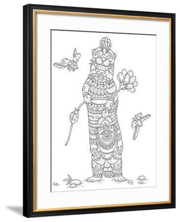 Animals Lovers 27-Filippo Cardu-Framed Giclee Print
