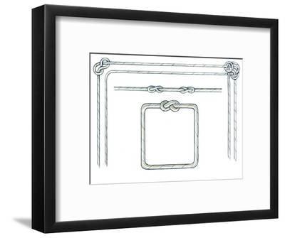 Nautical Ropes-Geraldine Aikman-Framed Giclee Print