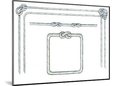 Nautical Ropes-Geraldine Aikman-Mounted Giclee Print