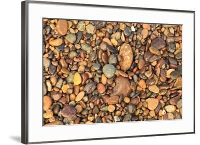 Cabo Pulmo, Los Cabos area, Baja California, Mexico. Close-up of rocks on the beach.-Stuart Westmorland-Framed Premium Photographic Print
