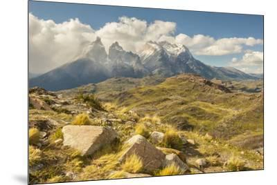 Chile, Patagonia. The Horns mountains.-Jaynes Gallery-Mounted Premium Photographic Print