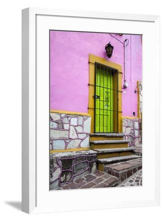 Mexico, Guanajuato, House in Guanajuato-Hollice Looney-Framed Premium Photographic Print