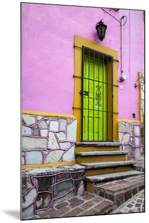 Mexico, Guanajuato, House in Guanajuato-Hollice Looney-Mounted Premium Photographic Print