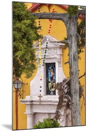 Mexico, Bernal, View of Church of St. Sebastian-Hollice Looney-Mounted Premium Photographic Print