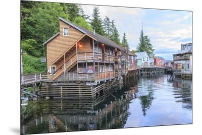 Creek Street, tourist walk, Ketchikan, Alaska, Inside Passage-Stuart Westmorland-Mounted Premium Photographic Print