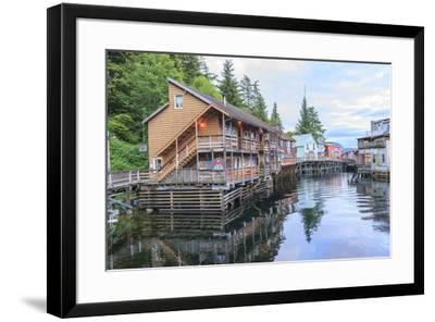 Creek Street, tourist walk, Ketchikan, Alaska, Inside Passage-Stuart Westmorland-Framed Premium Photographic Print