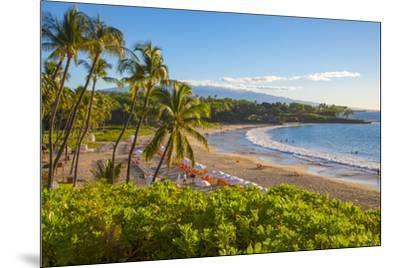 Kaunaoa Beach, Kohala Coast, Island of Hawaii-Douglas Peebles-Mounted Premium Photographic Print