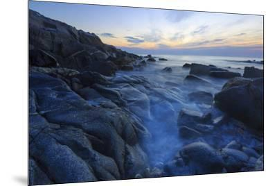 Dawn on Appledore Island, Maine. Isles of Shoals.-John & Lisa Merrill-Mounted Premium Photographic Print