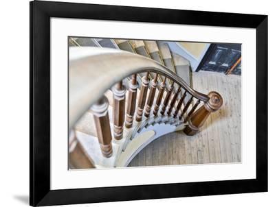 USA, Montana, Bannack State Park, Staircase-Hollice Looney-Framed Premium Photographic Print