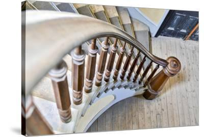 USA, Montana, Bannack State Park, Staircase-Hollice Looney-Stretched Canvas Print