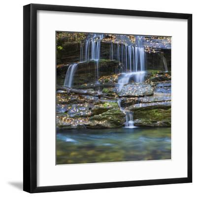 USA, North Carolina, Great Smoky Mountains. Scenic of Tom Branch Falls.-Jaynes Gallery-Framed Photographic Print