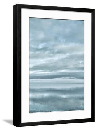 USA, Washington State, Seabeck. Sunrise mirrored in Hood Canal.-Jaynes Gallery-Framed Premium Photographic Print