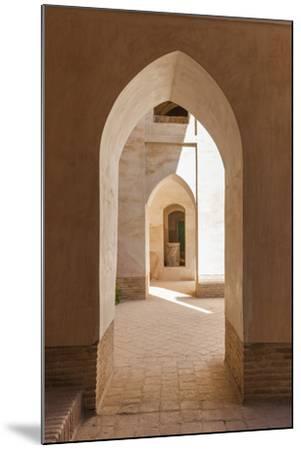 Iran, Natanz, Jameh Mosque, Arches-Walter Bibikow-Mounted Premium Photographic Print
