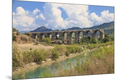 Turkey, Anatolia, Antalya, Aspendos Aqueduct over River Eurmedon.-Emily Wilson-Mounted Premium Photographic Print