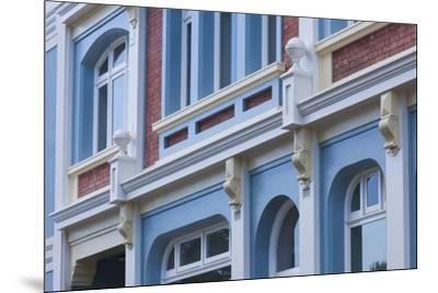 New Zealand, North Island, Whanganui. Building detail-Walter Bibikow-Mounted Premium Photographic Print