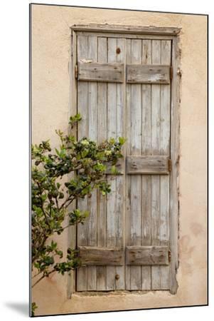 Greece, Crete, Chania, doorway-Hollice Looney-Mounted Premium Photographic Print