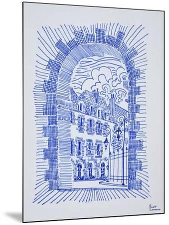 Place des Vosges, Marais, Paris, France-Richard Lawrence-Mounted Photographic Print