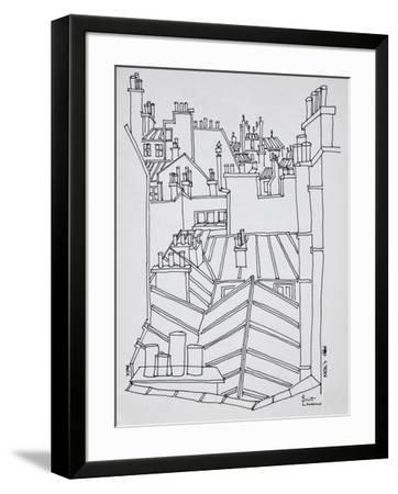 Rooftops of Paris, France-Richard Lawrence-Framed Photographic Print