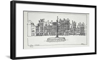 The Grand Place, Lille, France-Richard Lawrence-Framed Photographic Print