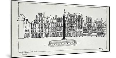 The Grand Place, Lille, France-Richard Lawrence-Mounted Photographic Print