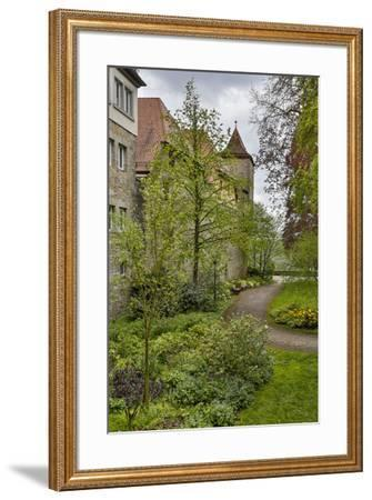 Germany, Rothenberg ob der Tauber, Outside the City Wall-Hollice Looney-Framed Premium Photographic Print