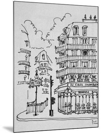 Famous Au Vieux Colombier on Boulevard Raspail, Paris, France-Richard Lawrence-Mounted Photographic Print