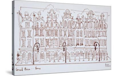 The Grand Place, Arras, France-Richard Lawrence-Stretched Canvas Print