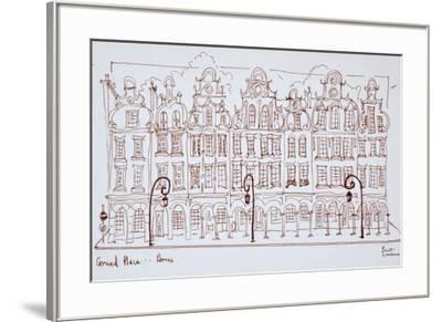 The Grand Place, Arras, France-Richard Lawrence-Framed Premium Photographic Print