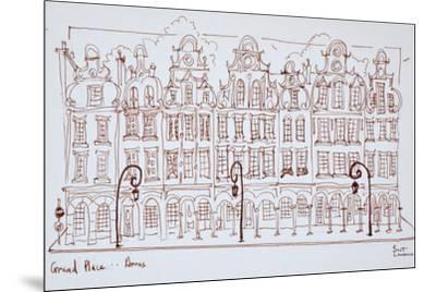 The Grand Place, Arras, France-Richard Lawrence-Mounted Premium Photographic Print
