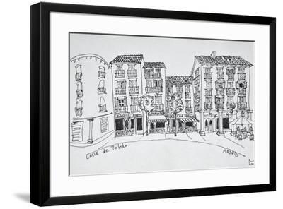 Calle de Toledo shopping street, Madrid, Spain-Richard Lawrence-Framed Premium Photographic Print