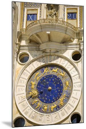 The Torre dell'Orologio in the Piazza San Marco, Venice, Veneto, Italy-Russ Bishop-Mounted Premium Photographic Print