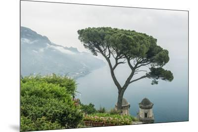 Italy, Amalfi Coast, Ravello, view of Coastline from Villa Rufolo-Rob Tilley-Mounted Premium Photographic Print