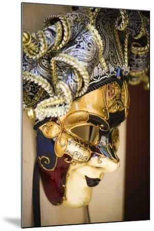 Carnival mask, Venice, Veneto, Italy-Russ Bishop-Mounted Premium Photographic Print
