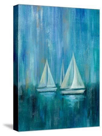 Sailboat Simplicity II--Stretched Canvas Print