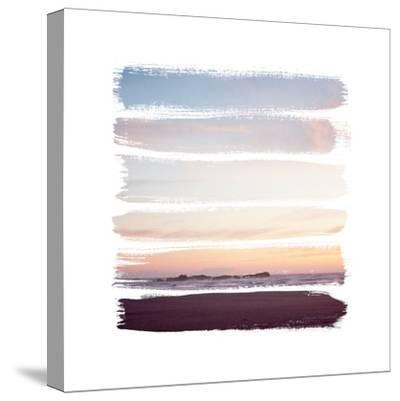 Sunset Stripes III--Stretched Canvas Print