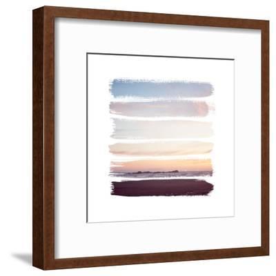 Sunset Stripes III--Framed Art Print