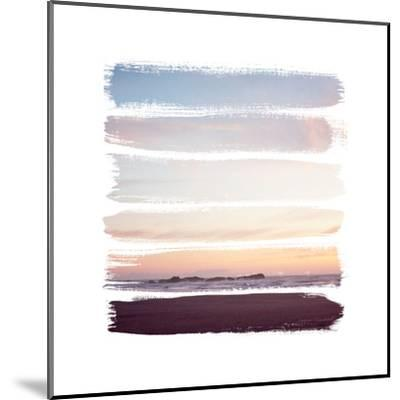 Sunset Stripes III--Mounted Art Print