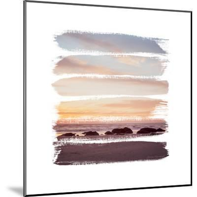 Sunset Stripes IV--Mounted Art Print