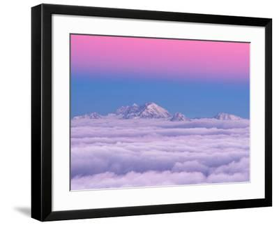 Pink in the Sky-Ales Krivec-Framed Photographic Print