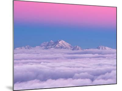 Pink in the Sky-Ales Krivec-Mounted Photographic Print