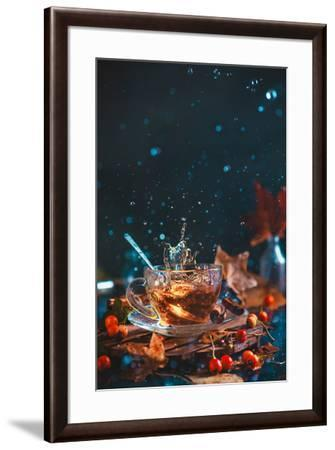 Autumn Teatime-Dina Belenko-Framed Photographic Print