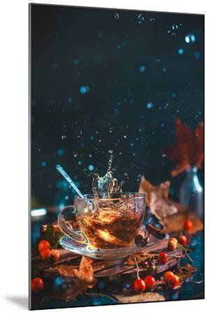 Autumn Teatime-Dina Belenko-Mounted Photographic Print