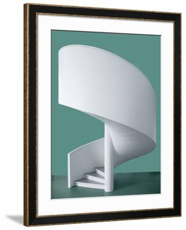 Spiral Staircase-Inge Schuster-Framed Photographic Print