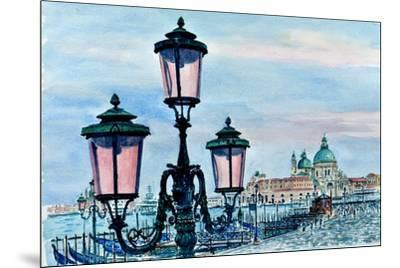 Venice Lights-Anthony Butera-Mounted Giclee Print