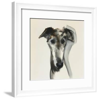 Galgo Espanol-Sally Muir-Framed Giclee Print