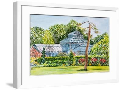 Snug Harbor Greenhouse-Anthony Butera-Framed Giclee Print