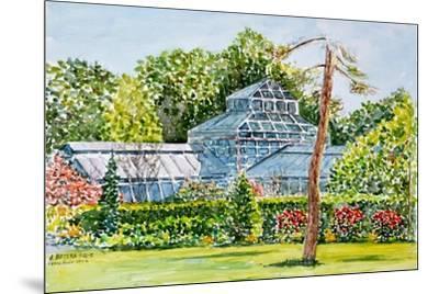 Snug Harbor Greenhouse-Anthony Butera-Mounted Giclee Print