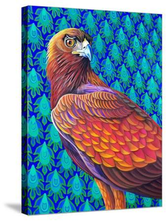 Golden eagle-Jane Tattersfield-Stretched Canvas Print
