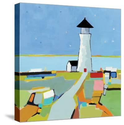 To the Lighthouse--Stretched Canvas Print