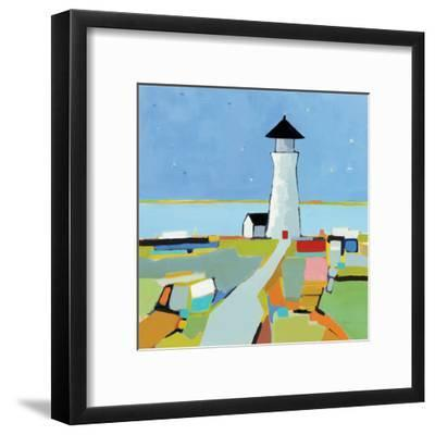 To the Lighthouse--Framed Art Print